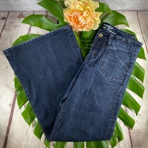 EUC! Parasuco Wide Leg Dark Denim Jeans